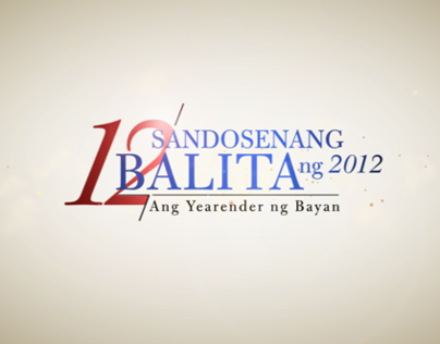 ABS-CBN New Sandosenang Balita 2012 OBB