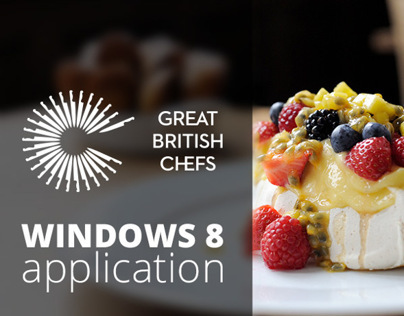 Great British Chefs - Windows 8 app