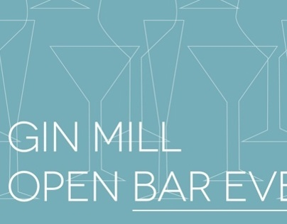 Soho Project: Gin Mill Invite
