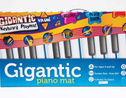Gigantic Piano Playmat