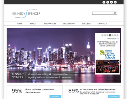 Website for Marketing and Communication Agency