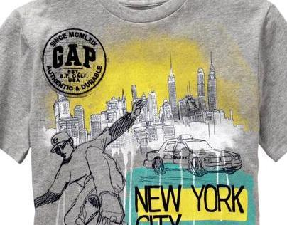 GAP CITY TEES