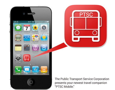 PTSC Bus Transportation App Prototype