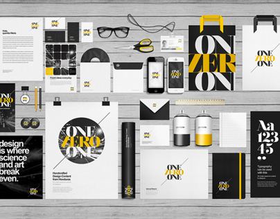 Flat Stationery / Branding / Identity Mock-Up