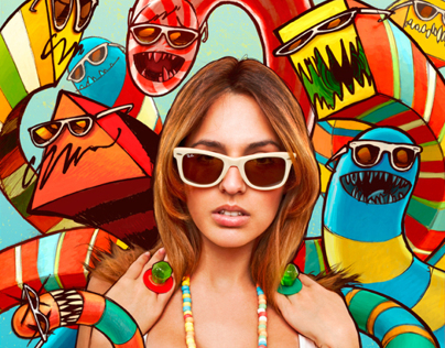 Ray-Ban Never Hide: Wayfarer Worms