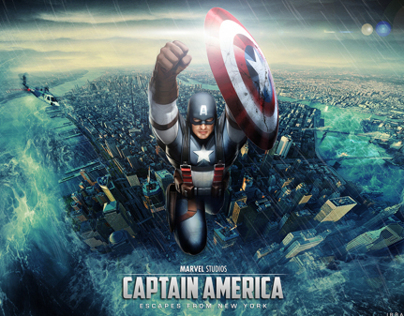 Captain America - Escapes from New York
