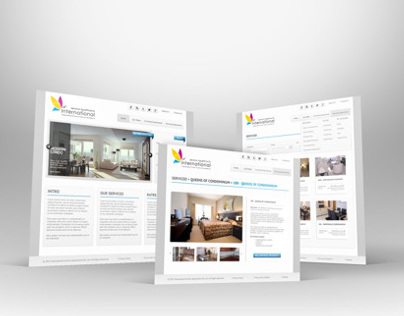 Apartment Web design