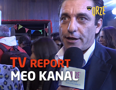 TV report for MEO KANAL