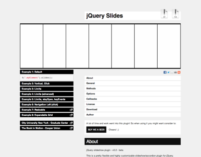 jQuery Slides Plugin