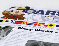 Disney Cruise Line Oars & Ears graphics