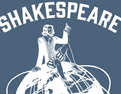 Shakespeare Tee for Hip to Hip Theatre Co.