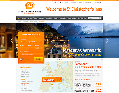 St Christophers Inns ~ European Youth Hostels