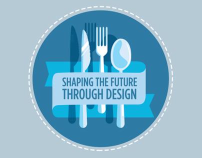 Shaping the Future Through Design /event branding