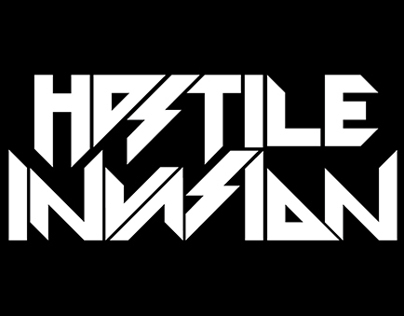 Hostile Invasion Logo.