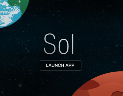 Sol: The Worlds First Interplanetary Weather App