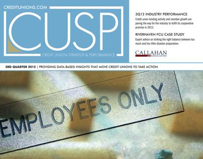 Publication Design - 3Q12 CUSP