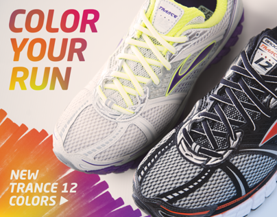 Color Your Run for brooksrunning.com