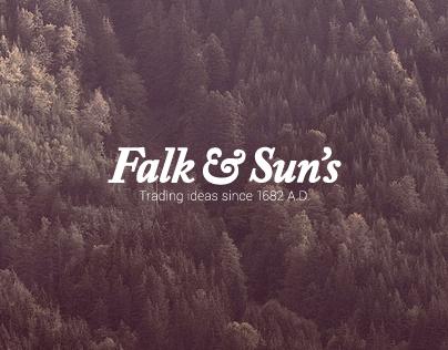 Falk&Sun's Logo re-design