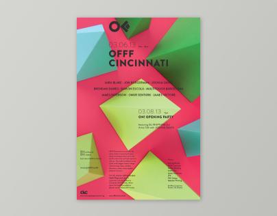 OFFF Cincinnati 2013 – Poster