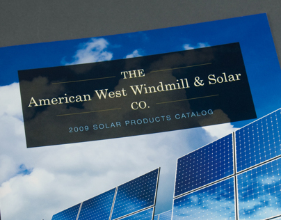 American West Windmill & Solar Co. Catalog