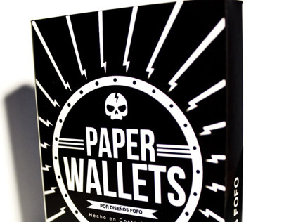 Paper Wallets Packaging