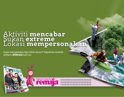 Remaja Magazine Advertising Rebranding