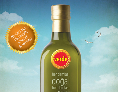 Verde Olive Oil Advertising