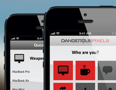 Dangerous Pixels Recruit iPhone App