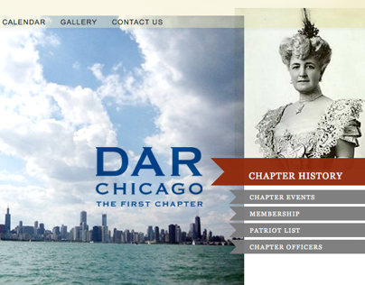 DAR Chicago Brand Website Strategy + Creative