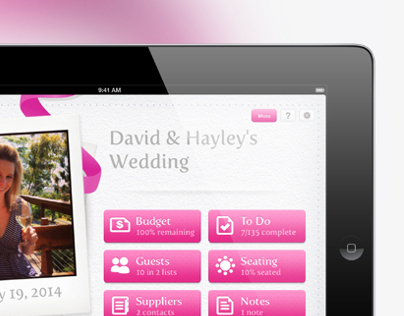Easy Weddings iPad App