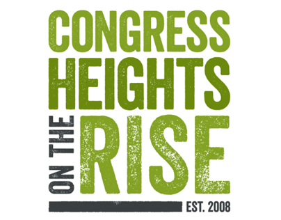 Congress Heights on the Rise Logo