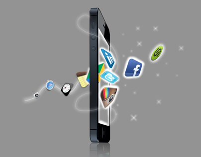 Web Illustration: Apps Brought to Life