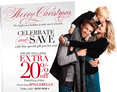 2012 Holiday Season - Corporate Email Campaign