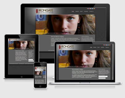 Irongate Productions | Responsive Website by FPID