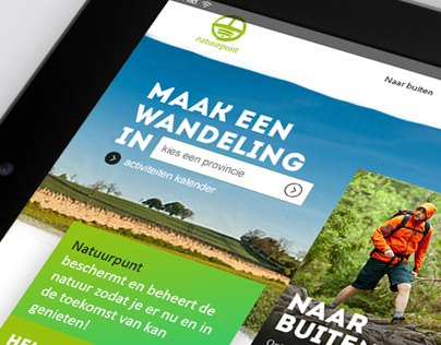 Natuurpunt.be Redesign Pitch