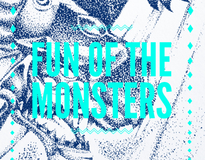 Fun of the Monsters Posters