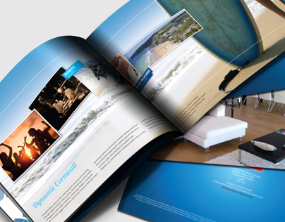 Brochure Design for Surf Pods