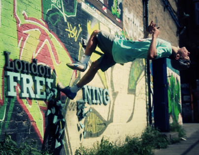Freerunning London