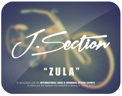 J-Section Bike concept - Zula