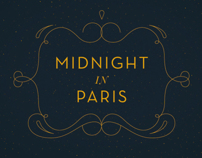 Midnight in Paris / Titulos