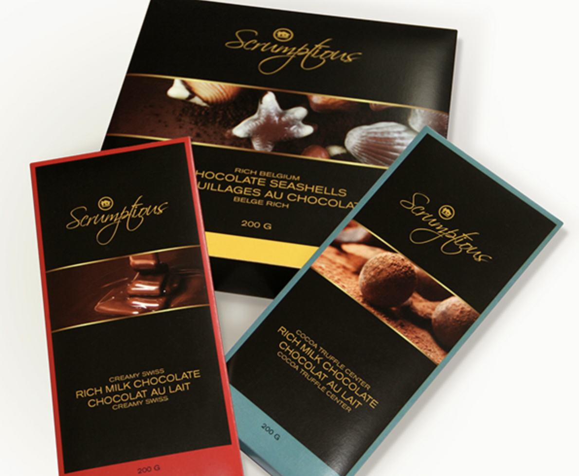 Scrumptious Private Brand Confectionery Packaging