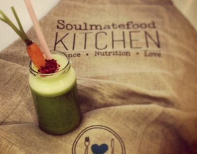 Soulmatefood Kitchen, Harrods - branding project