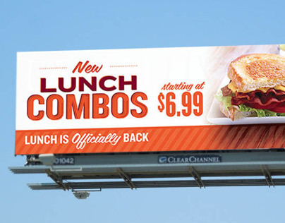 Applebees Take Two Lunch Combo | Promotional Ads