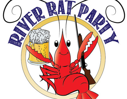 River Rat Party Logos