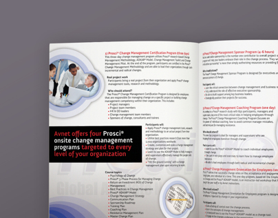 Prosci 4 Page Brochure