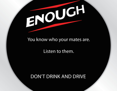 Road Safety Beer Mats