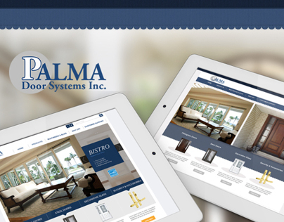 Palma Door Website Concept Design