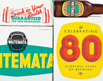 Waitemata Sparkling Ale Packaging Design
