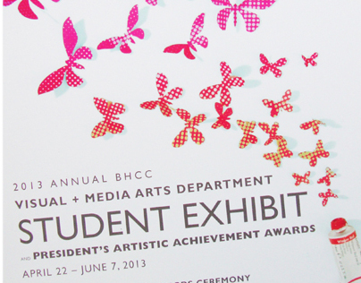 Student Art Show Exhibition Poster