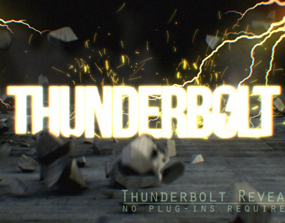 Thunderbolt Reveal Title
